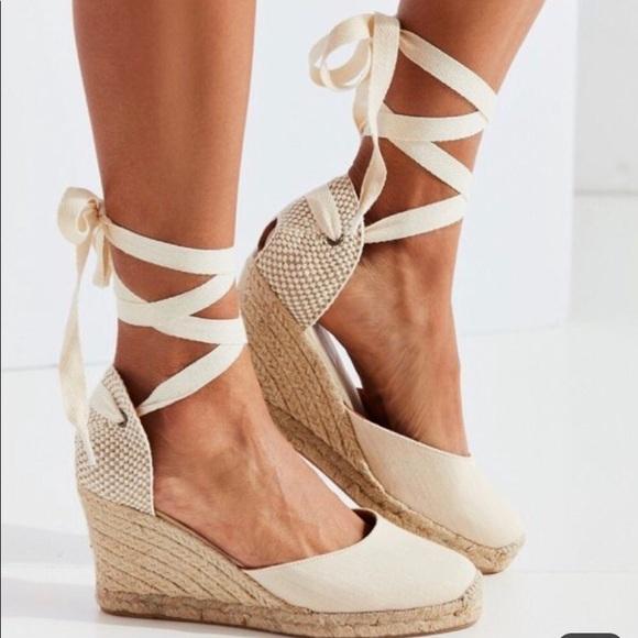 e493e533c9a Soludos | Linen Espadrille Tall Wedge Sandal